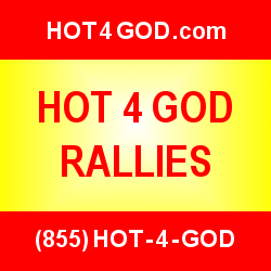 HOT 4 GOD Rally Ad